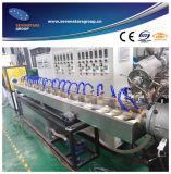 Линия штрангя-прессовани трубы стального провода PVC усиленная