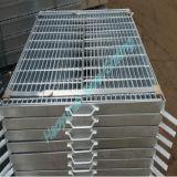 Grating van het roestvrij staal voor Op zwaar werk berekend Gebruik