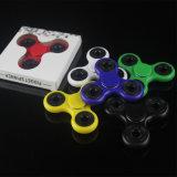 Plástico ABS o POM Mano EDC Tri-Spinner Juguetes Fidget Spinner