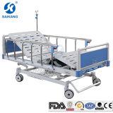 Abmontierbares manuelles Standardbett des Krankenhaus-5-Function