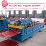 roulis alimentant de panneaux de toiture en métal d'Ibr de largeur de 1000type Kexinda 1200/1220mm formant la machine