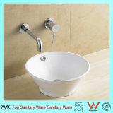Bassin en céramique de salle de bains de projet de bassin de bassin de qualité