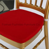 고품질 방석을%s 가진 왕 금 Chaivari 결혼식 의자