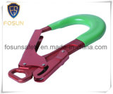 Красный цвет Carabiner крюка весны крюка алюминия щелчковый
