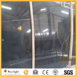 China mais baratos Black Nero Marquina Marble Slabs / Nero Marquina Mármore Tiles