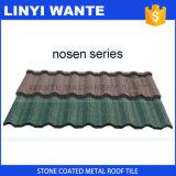 Плитка крыши металла цветастого песка Coated