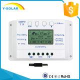 12V/24V 10A MPPT+PWM Aufladeeinheits-Solarcontroller mit USB und Cer T10