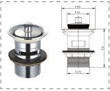 Basura del latón para el lavabo de colada (BW1016)
