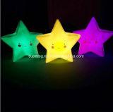 子供夜ライトのための新型の星の微笑の表面