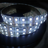 Super brillante de doble hilera 5050 Cinta de luz LED