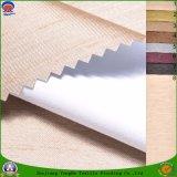 Tissu enduit imperméable à l'eau de rideau en arrêt total de franc de tissu tissé par polyester de textile pour le rideau prêt à l'emploi en guichet