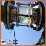 Huile de lubrification de rebut noire d'engine de moteur réutilisant à la machine diesel de raffinage de pétrole de pente d'essence