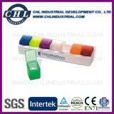 Boîte à pilule portative de 4 portes à grande capacité avec 3 compartiments