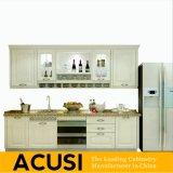 卸し売り熱い販売の線形様式の純木の食器棚の台所家具(ACS2-W30)