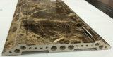 Heißes Verkaufs-Marmor-und Holz-Farbe Kurbelgehäuse-Belüftung, das formengesims umsäumt