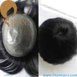 Thin Skin Remy Hair Toupee