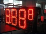 屋外LEDの給油所の価格設定の印