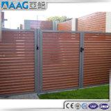 Kundenspezifisches hölzernes Ende-Zaun-Aluminium-Profil