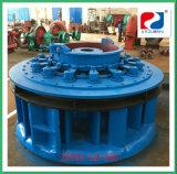 O componente médio ajusta o hidro gerador