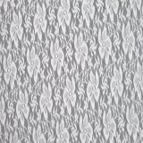 Elastic Spandex White Guipure Wedding Dresses Lace Fabric Desde a China