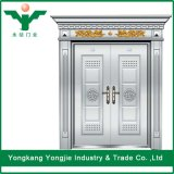 Puerta de acero inoxidable de calidad fina para Villa