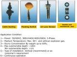 Bombas submergíveis da perfuração da água de esgoto inoxidável de aço