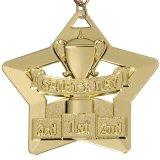 Il rifornimento personalizza la medaglia in lega di zinco antica di sport di alta qualità dell'OEM dell'oro 3D
