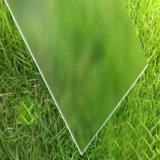 Green&#160のための100%年のバイヤーポリカーボネートによって曇らされる固体シート; 屋根