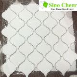 Polierwasserstrahlsteinfußboden-Fliese-Marmor-Mosaik für Baumaterial