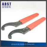 ツールを締め金で止める高い硬度のタイプC 55-62のホックスパナーの締める物