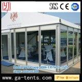 Расширьте шатер шатер сени 2 слоев алюминиевый большой