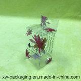 واضحة بلاستيكيّة يعبّئ يطوي طباعة صندوق