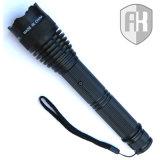 La forza di polizia tattica stordisce la torcia elettrica della pistola LED