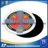 Logotipo em borracha 3D Soft PVC Patch com Magic Tape Backing