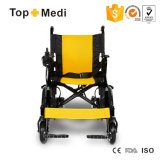 Topmedi behinderte preiswerte Preis-faltbare Energien-elektrischen Rollstuhl China