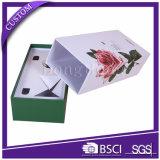 Rectángulo de papel de empaquetado del cajón del estilo del perfume popular de la cartulina