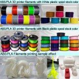 filaments en plastique de l'imprimante 3D de PLA d'ABS de 3mm 1.75mm pour l'imprimante 3D