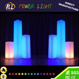 Luz decorativa da coluna do diodo emissor de luz das colunas claras do diodo emissor de luz para o casamento