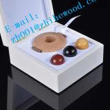 Caixa de embalagem de madeira do instrumento de massagem