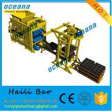 Blocs concrets de cavité faisant la machine à vendre la machine de brique