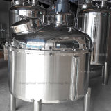 衛生二重層のJacketedステンレス鋼液体ジュースの混合タンク