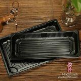 Conteneur en plastique remplaçable rectangulaire de sushi (B0201-03)