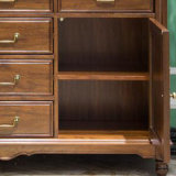 ホーム家具(AS807)のための米国式の木の引出しの箱