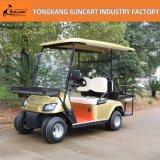 Carro de golfe automático de 2+2 assentos fácil operar-se, carro de golfe elétrico da cor de Champagne