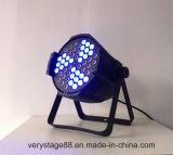 Luz grande de la etapa de la IGUALDAD LED del molino de viento de la colada del LED 54*3W 3 in-1 RGB
