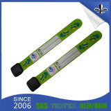 Хорошее качество подгоняло напечатанный логосом мягкий Wristband PVC устранимый