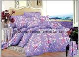 Size 4PC寝具一定王の羽毛布団カバー一定のMicrofiberの極度の柔らかい生命