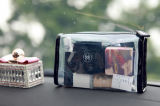 Custom Print Transparent PVC Makeup Bag with Zipper