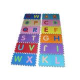 EVA-Alphabet-Schaumgummi-zackiges blockierenmatten-Fußboden-Puzzlespiel für Kinder