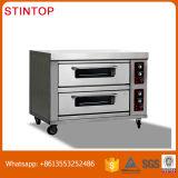 Klein Commercieel Brood die tot Machines maken de Elektrische Oven van het Baksel van het Dek van de Pizza van het Gas